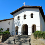 Old catholic mission in San Luis Obispo, California